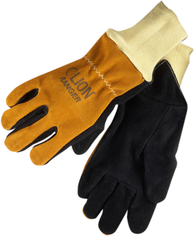 LION LEATHER GLOVES WITH AIRHOLE