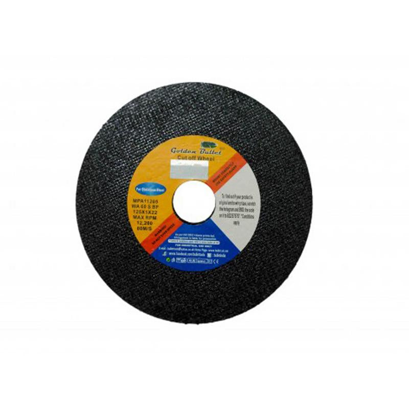 BULLET 4X1INCH SS CUTTING WHEEL BLACK 105X1X16MM