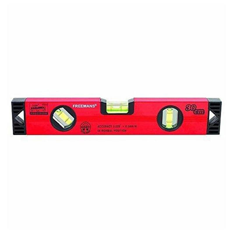 FREEMANS MAGNETIC SPIRIT LEVEL RED 1FT-Z 300MM/30CM