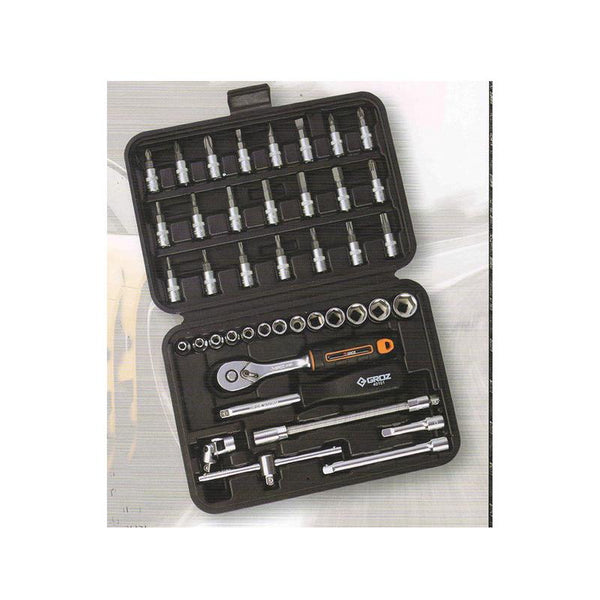 GROZ SOCKET SETS KIT/SKT/H1-4/42/UG