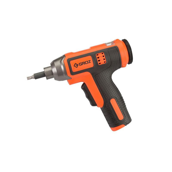 GROZ IDR/2 (4V INSTA DRIVE SCREWDRIVER 31 WITH RETRACTABLE BIT CARTRIDGE)