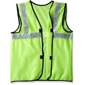 MAXX FLOROCENT SAFETY JACKET 1INCH REFLECTING GREEN