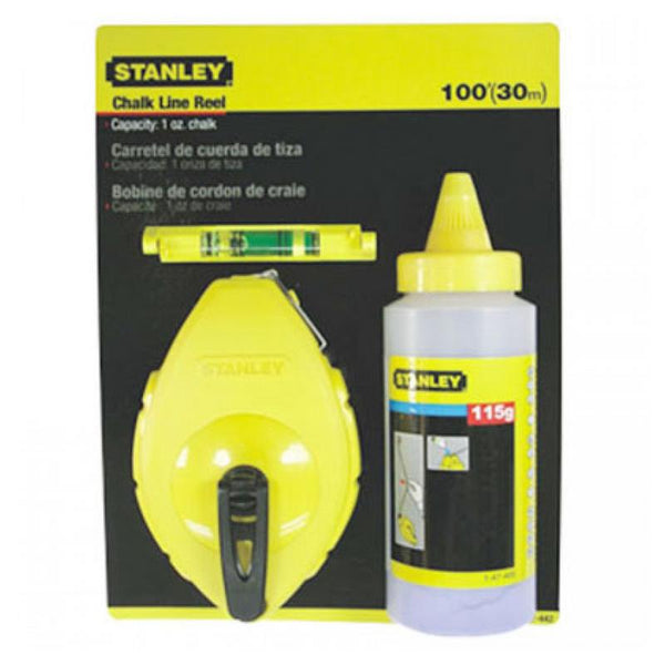 STANLEY CHALK LINE LEVEL STHT47443-8 W/BLUE