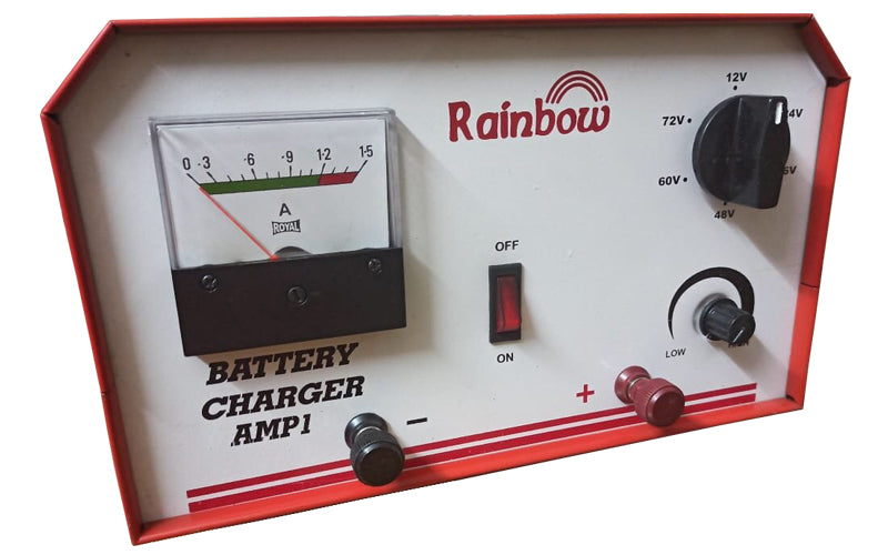 RAINBOW BATTERY CHARGER 72V 1A