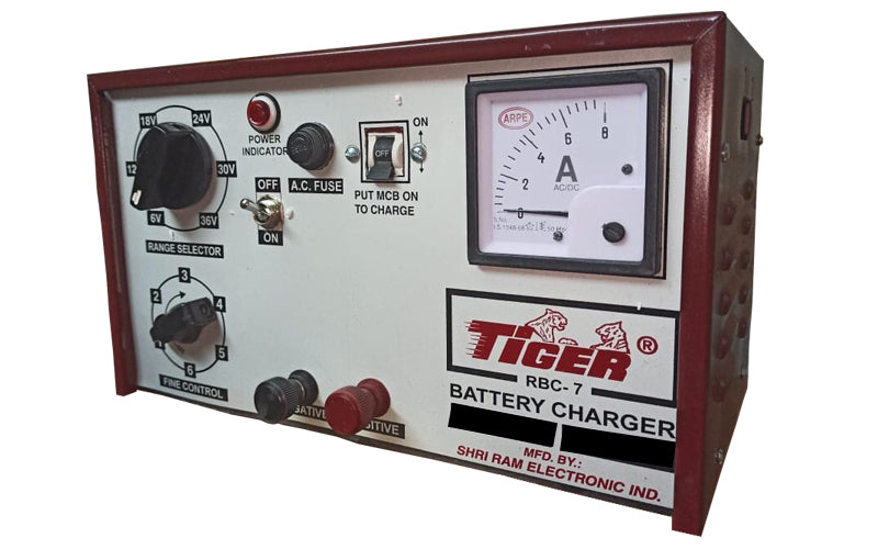 TIGER BATTERY CHARGER 36V-10AMPS