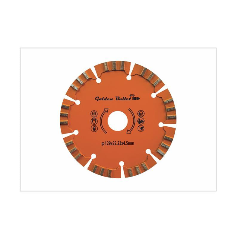 BULLET 5 INCH WALL GROOVING BLADE 129X22.23X4.5MM