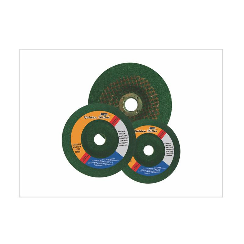 BULLET GREEN 4X6INCH GRINDING WHEEL 100X6X16MM DC WHEEL PACK OF 5 NOS
