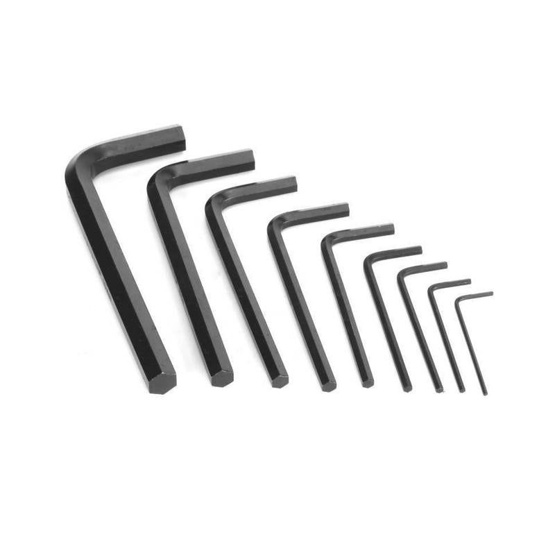 DE NEERS ALLEN KEY SET (1.5-10MM) SHORT BATTERN MM SET