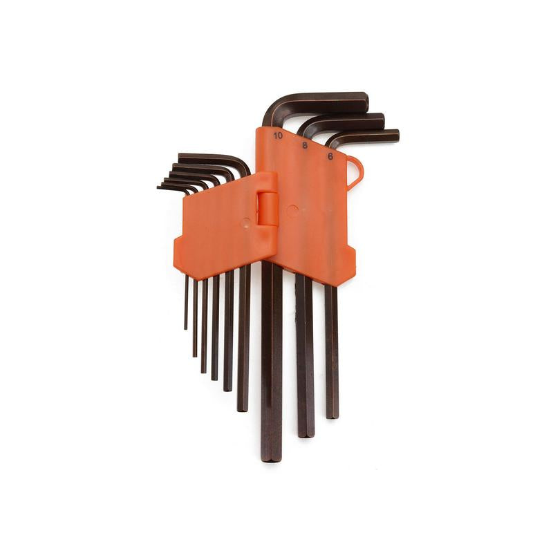 DE NEERS AMBITEC AT KBHM9L 9PCS LONG ARM FLAT AND HEX KEY