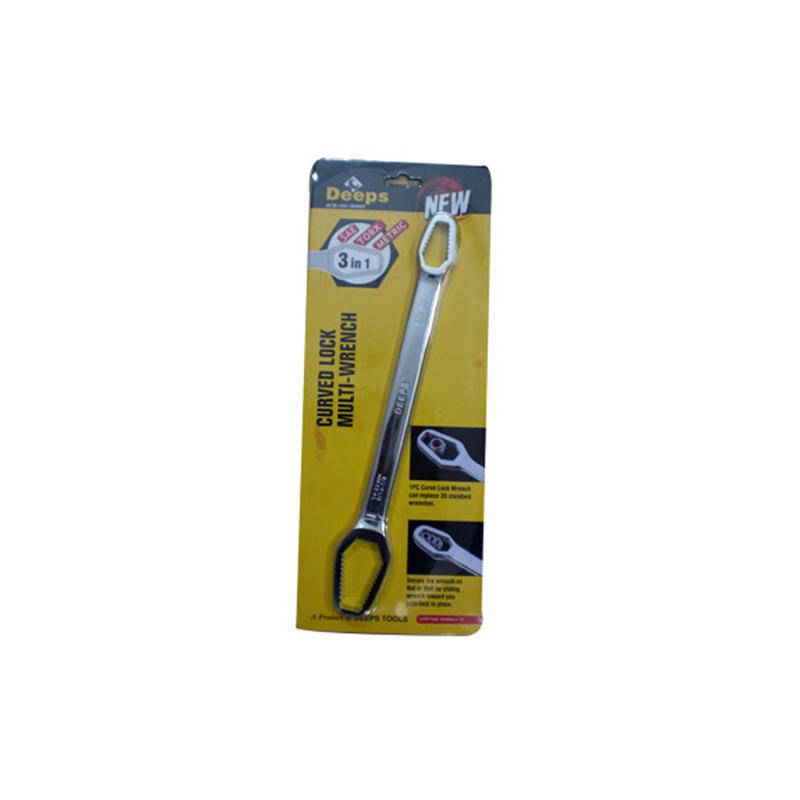 DEEPS CURVED MULTI WRENCH (B)