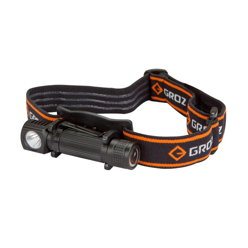 Groz 1W LED RECHARGEABLE HEAD LAMP LED/240
