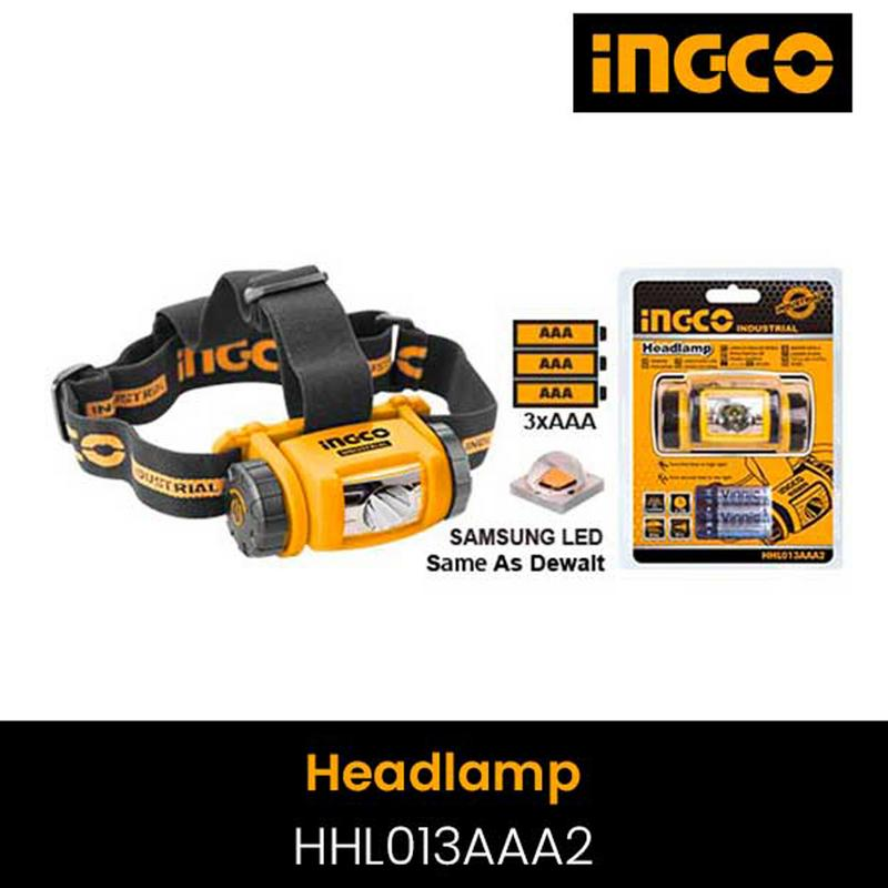 INGCO HEADLAMP HHL013AAA2