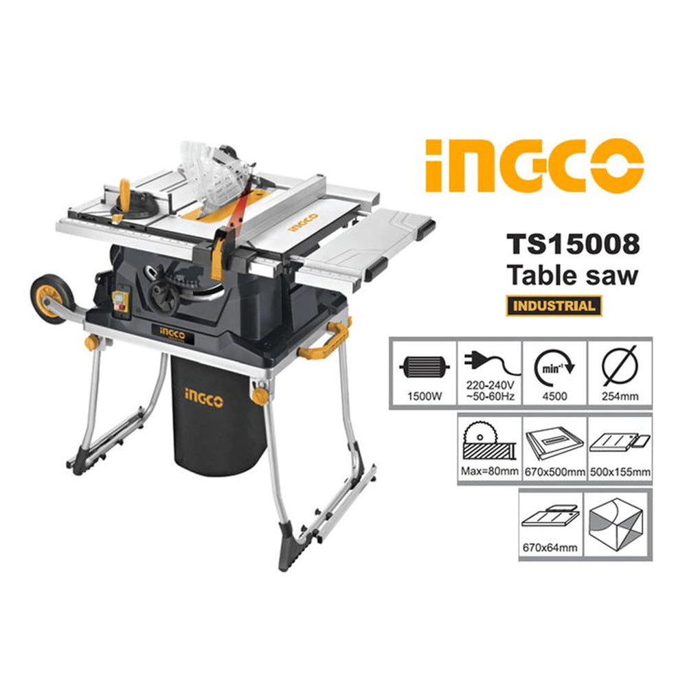 INGCO Table Saw TS15008
