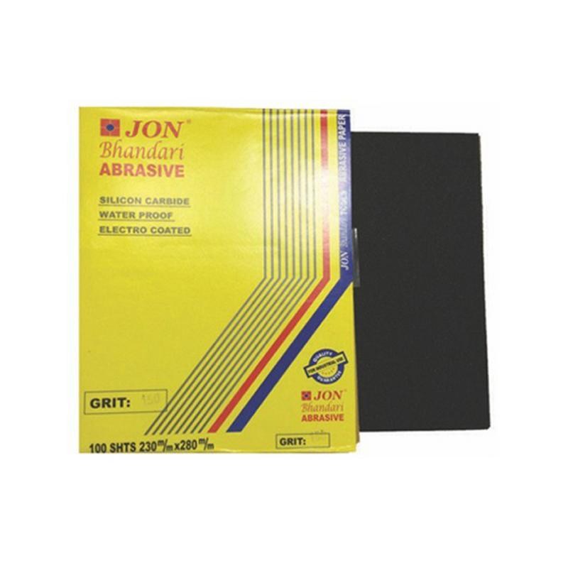 JON BHANDARI PAPER WATER PROOF SILICON COATED GRIT 100