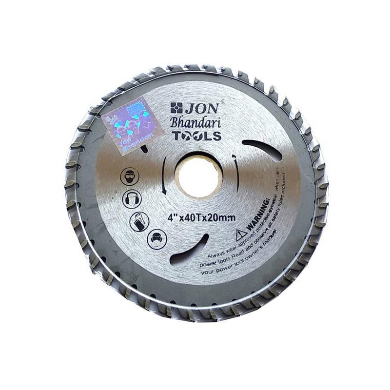 JON BHANDARI TCT BLADE PLATINUM SHARP CUTTING 4 X 40 T-101