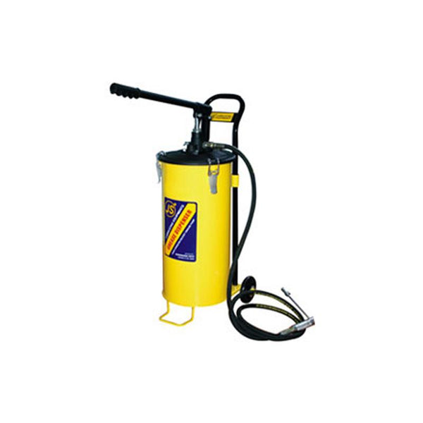 JS BUCKET GREASE PUMP 15KG BGP515(WHEEL)