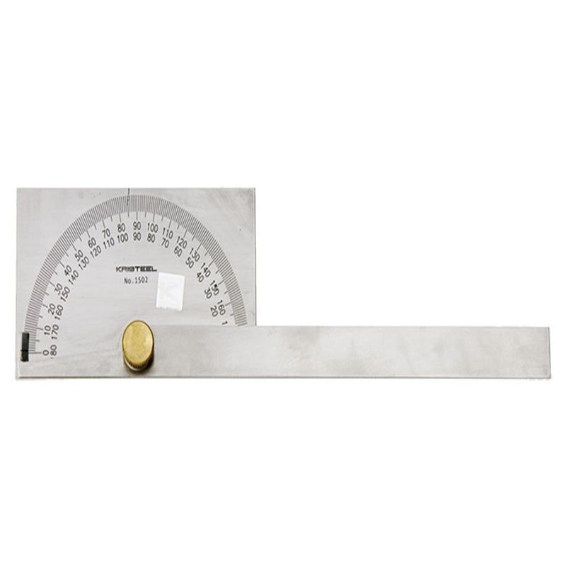 KRISTEEL DEGREE PROTRACTOR (D HEAD)