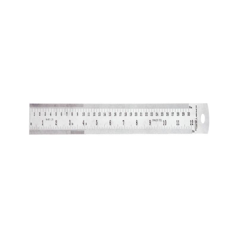 KRISTEEL STEEL RULER 2FT