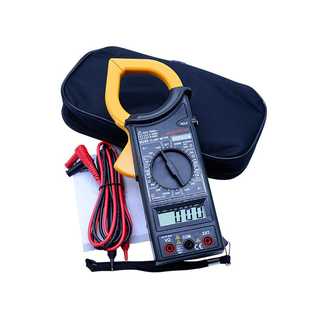 MASTECH AC DIGITAL CLAMP METER M266 SERIES