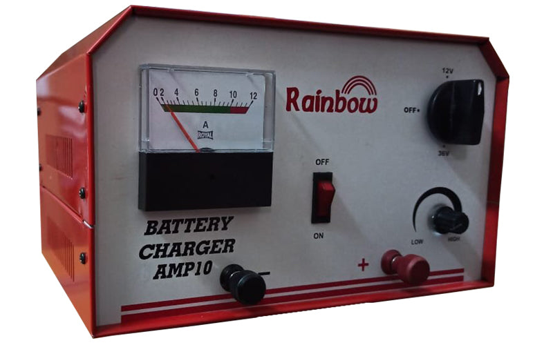RAINBOW BATTERY CHARGER 10AMPS 36V