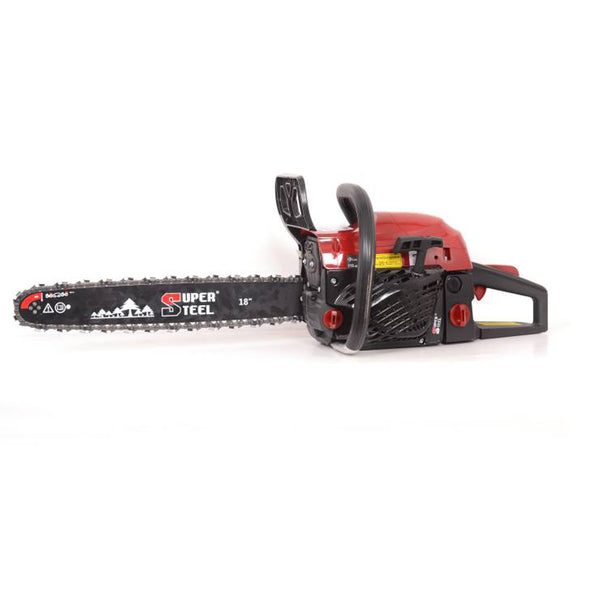 SUPER STEEL CHAIN SAW 72CC 18INCHES WITH ACCESSORIES