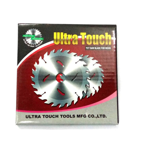ULTRA TOUCH 10INCHx40T TCT SAW BLADES (WOOD CUTTING BLADE)