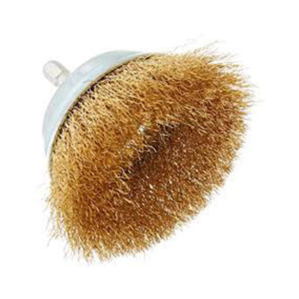 ULTRA TOUCH CUP BRUSH (GOLDEN) - 3INCH 75MM