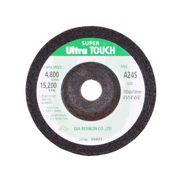 ULTRA TOUCH DC/GRINDING WHEEL 4INCHX6MM