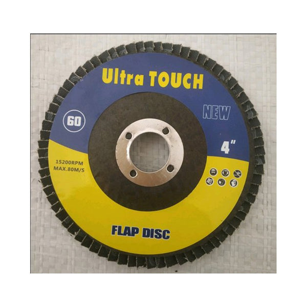 ULTRA TOUCH FLAP WHEEL - 4INCHX60G
