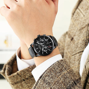 Classical Analog Timepiece ''Chronograph''