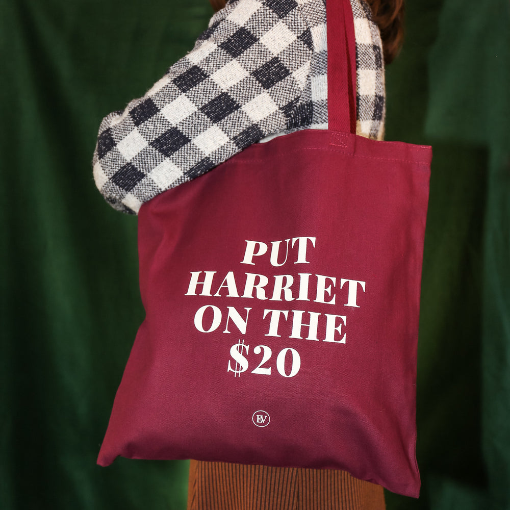 """Put Harriet on the $20"" Tote"