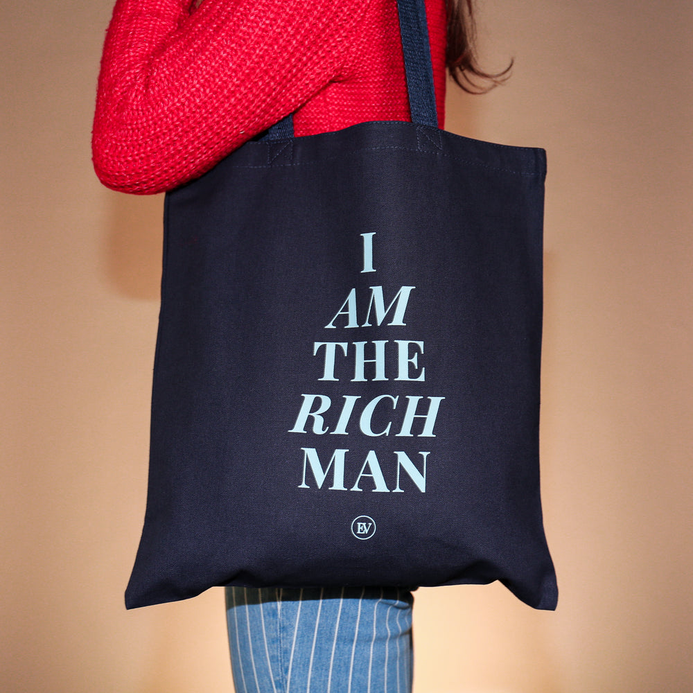 """I Am The Rich Man"" Tote"