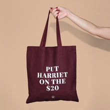 "Load image into Gallery viewer, ""Put Harriet on the $20"" Tote"