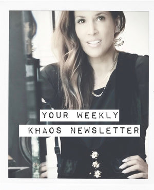 THE WEEKLY KHAOS // AUGUST 29th