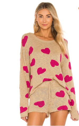 Valentine's Day cute and comfortable pajamas