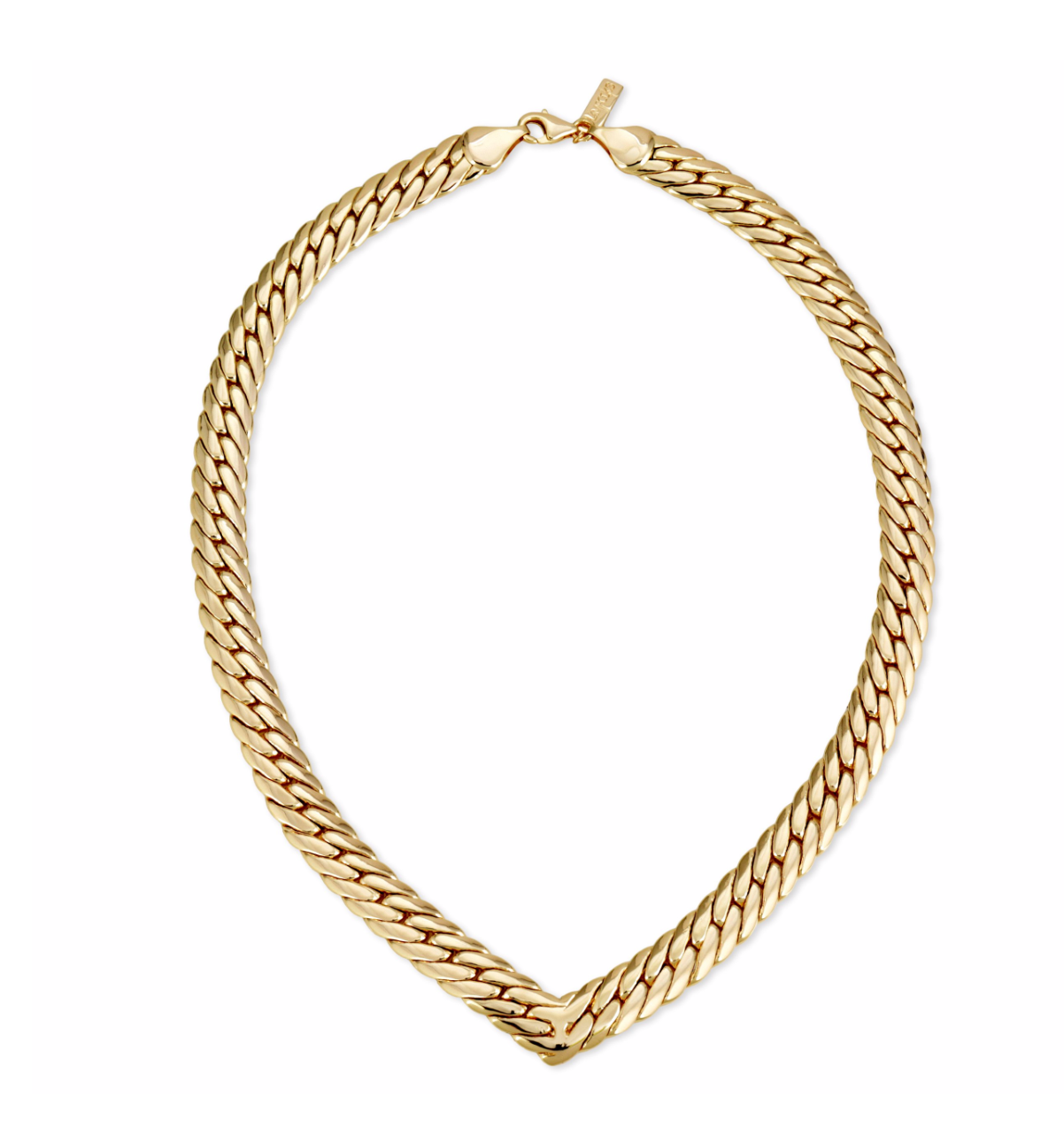 GLAMROCKS CHEVRON STATEMENT COLLAR