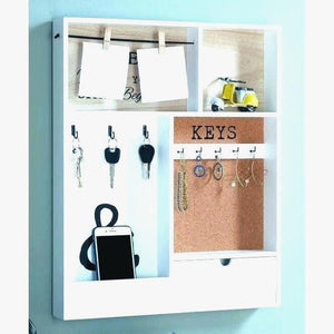 Uk Concept Wall Mounted Mail Holder