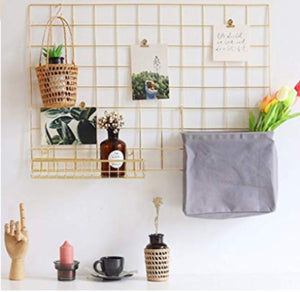 Grid wall display