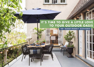 Last week we did our annual HUGE outdoor furniture roundup and while I had SO much fun putting it together I was once again shocked by the general price points on the market