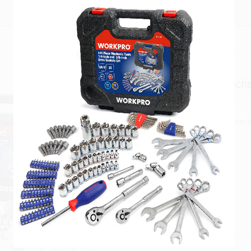 Workpro Mechanic Tool Socket Set Only $49.97 Shipped!! (Reg