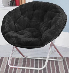 A magnificent combination of a couch and a chair, the saucer chairs have become extremely popular these days