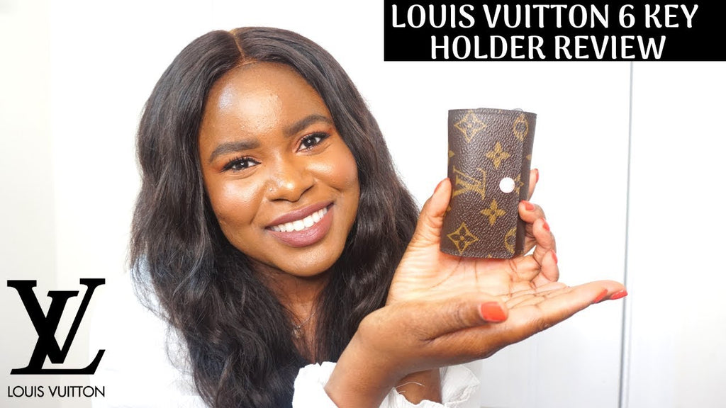 LouisVuitton #6Keyholder #Review Hey guys here's my review on the Louis Vuitton 6 Key Holder