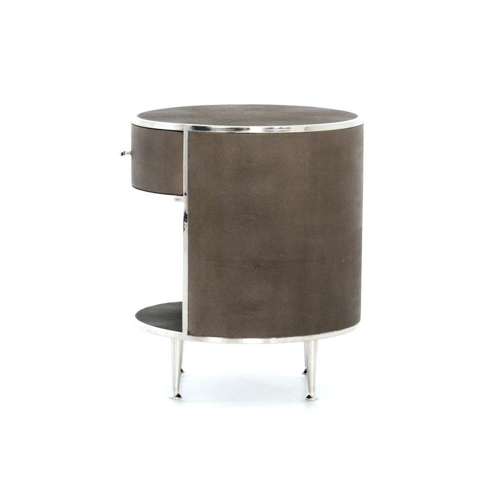 Dishy Stainless Steel Nightstand