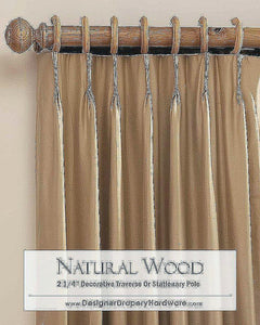 Contemporary Return Curtain Rod