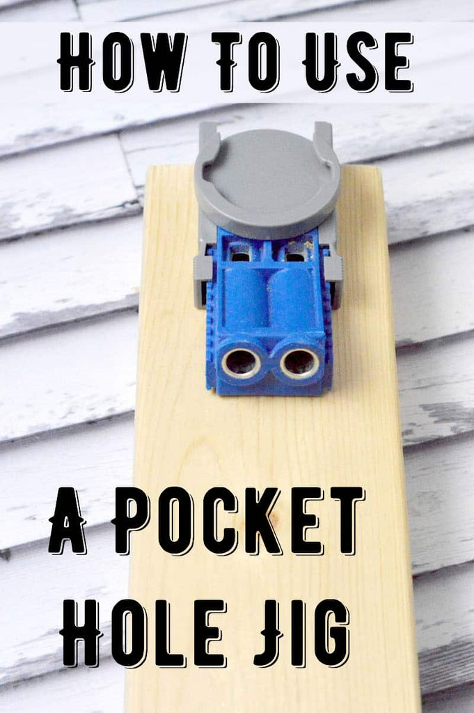 Learn all about how to use the pocket hole jig – otherwise known as a Kreg Jig! Use this tool to make your woodworking strong and tight with (almost) invisible screws