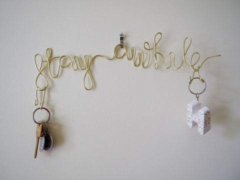 Wire Key Holder For Wall – Budget DIY for Begginers