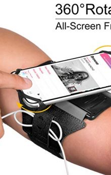 Top 10 Incredible Cell Phone Armbands in 2020 – Selling Running Phone Holder Reviews