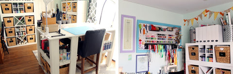 Craft Room Storage And Organization Ideas For Every Budget
