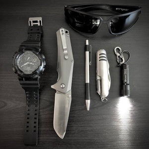 submitted by MikeCasio Mens GA100-1A1 Black Resin Quartz...