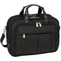 McKlein R Series 7456 Pearson Expandable Double Compartment Briefcase